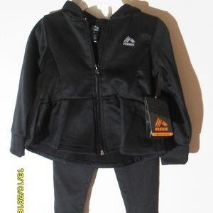 New LIttle Girls Reebok Track Suit Size 2T